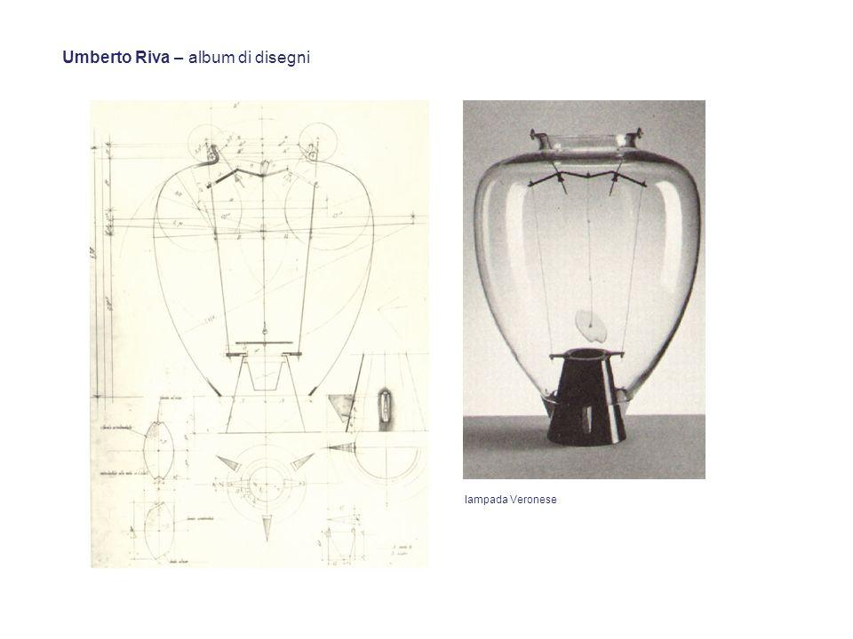 Umberto Riva – album di disegni lampada Veronese