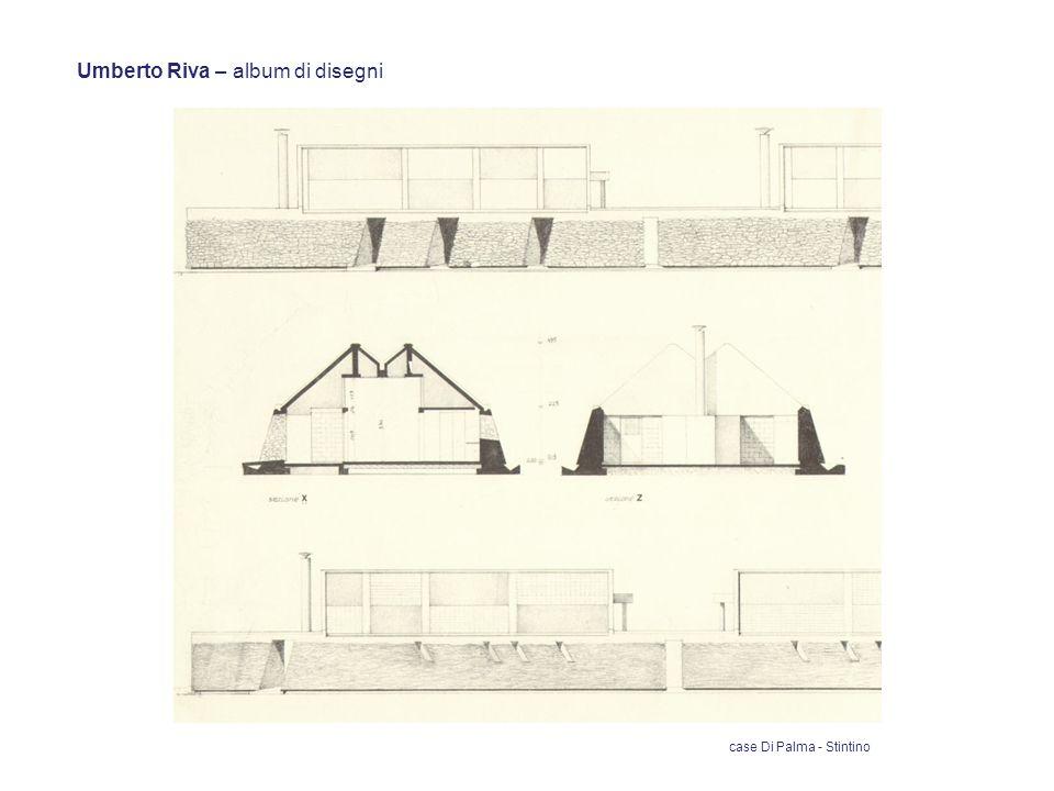 Umberto Riva – album di disegni case Di Palma - Stintino