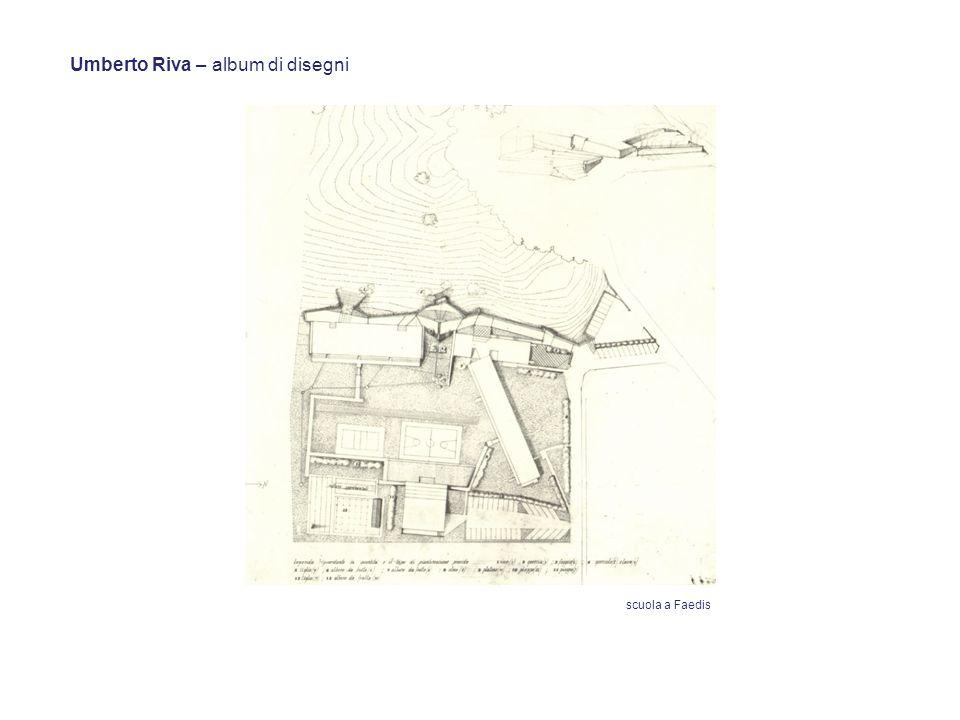 Umberto Riva – album di disegni scuola a Faedis