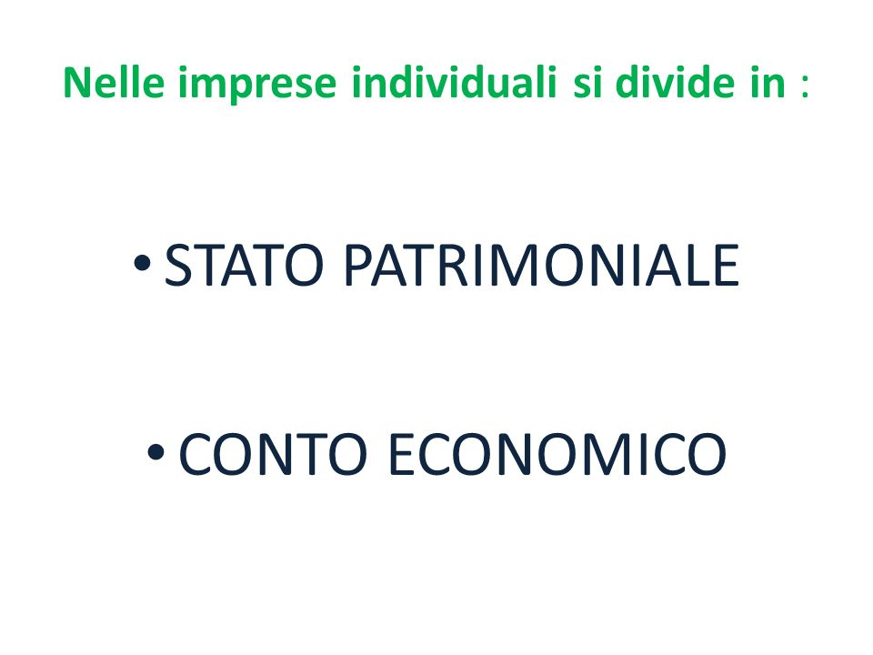 PROFITTO Differenza tra il totale coti e il totale ricavi: Tot.