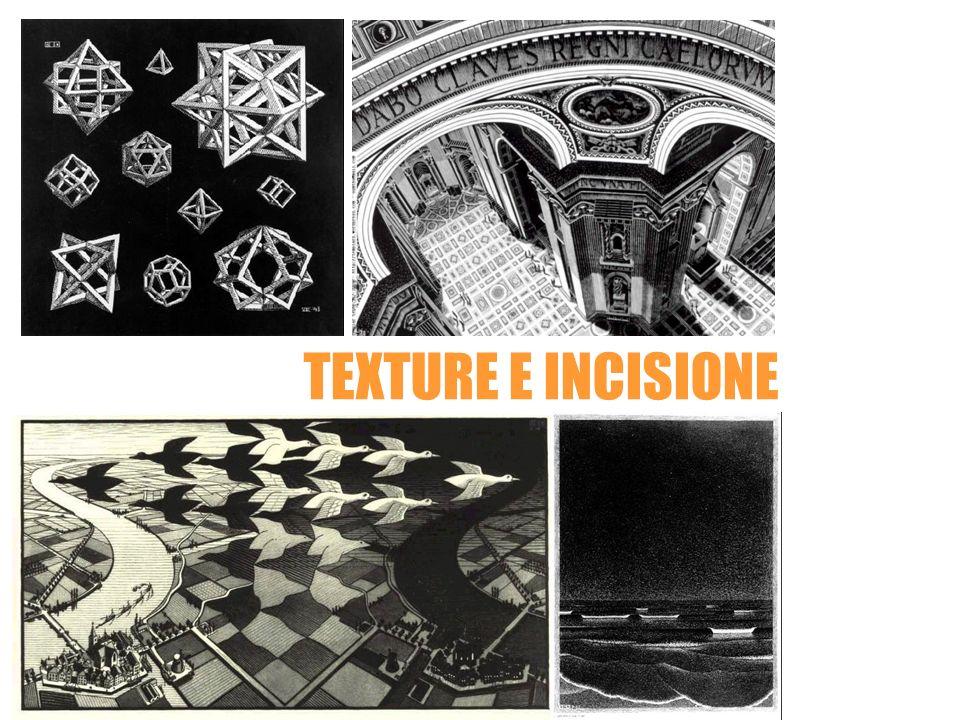 Maurits Cornelis Escher TEXTURE E INCISIONE