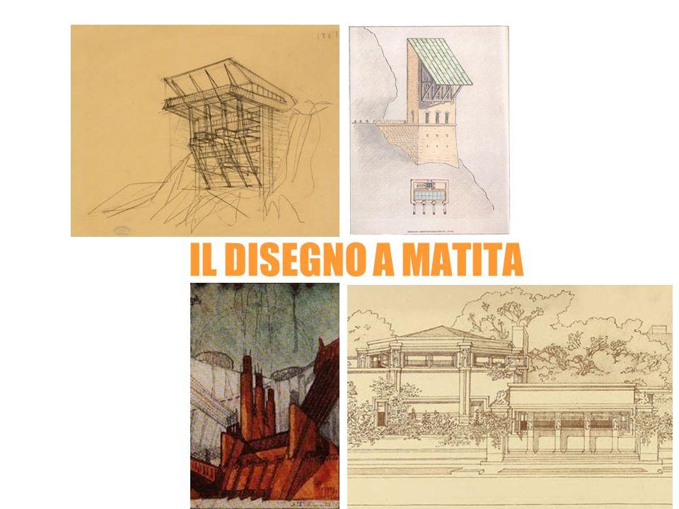 IL DISEGNO A MATITA Carlo MollinoLeon Krier Frank Lloyd Wright Antonio SantElia