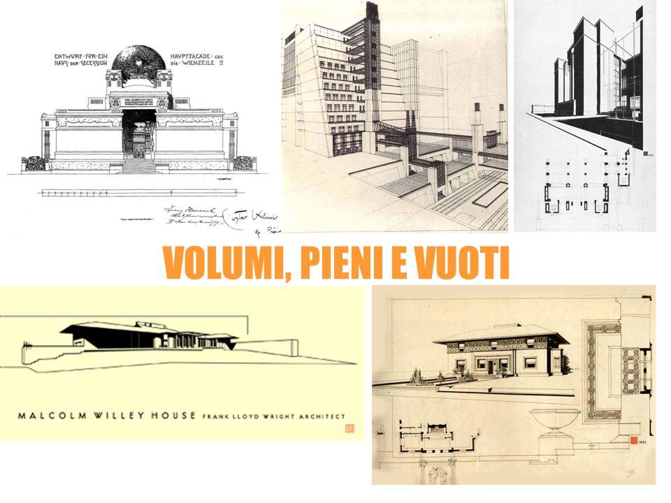 Frank Lloyd Wright Antonio SantEliaJoseph Olbrich VOLUMI, PIENI E VUOTI