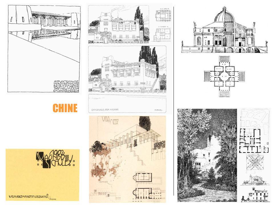Palladio CHINE Wagner Schule Ernesto Basile