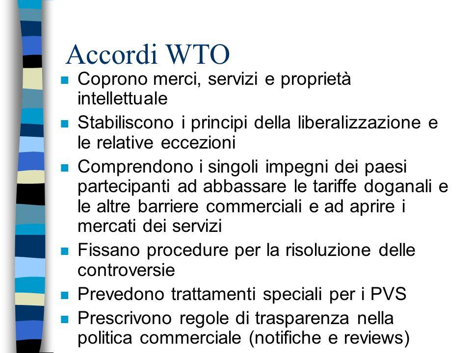 Quarto livello n Comitati che dipendono dai singoli Consigli (Merci, Servizi)