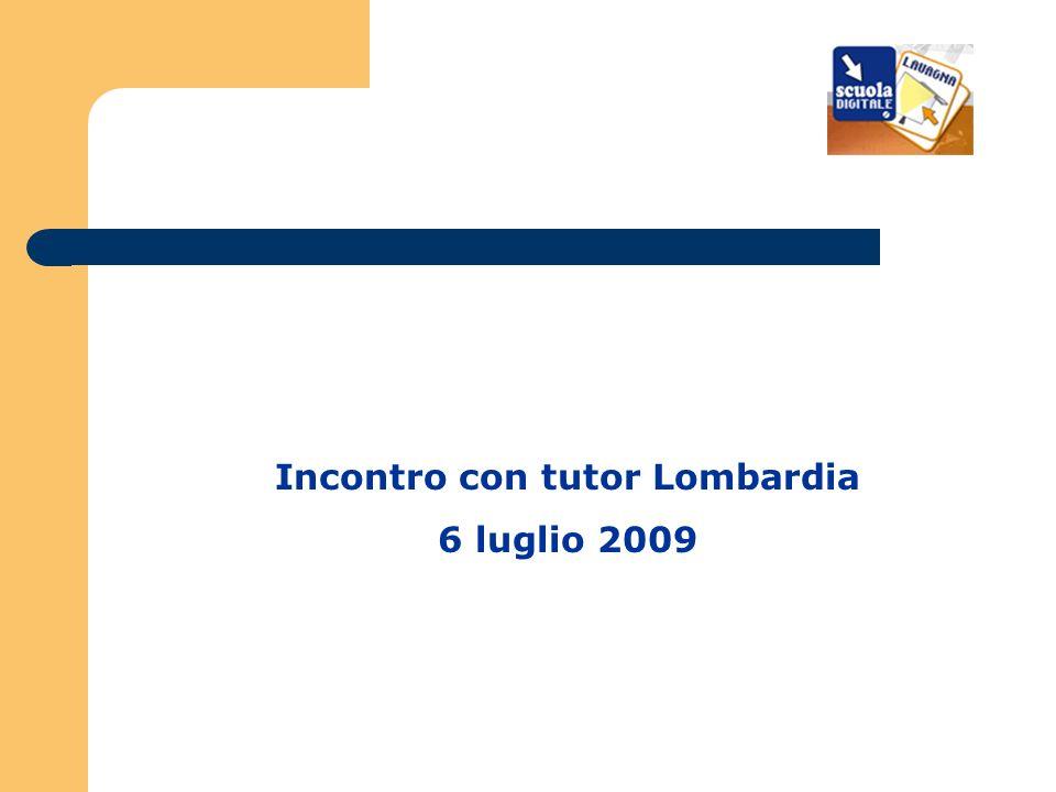 Incontro con tutor Lombardia 6 luglio 2009