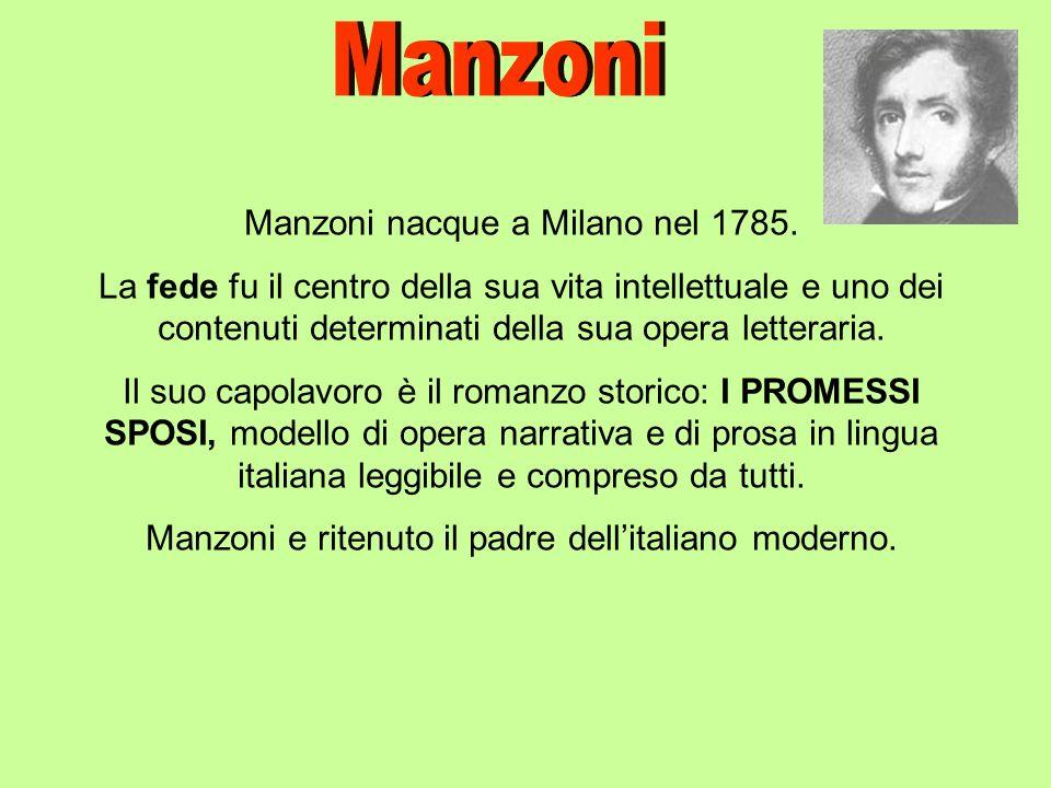 La storia e ambientata in Lombardia nel 1600 durante la dominazione spagnola in Italia.