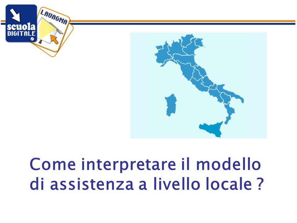 Come interpretare il modello di assistenza a livello locale
