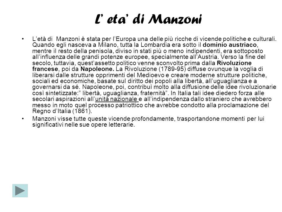 Le tematiche La peste Il XXXI e il XXXII capitolo de I Promessi sposi sono capitoli di pura trattazione storica, in cui tutta l attenzione di Manzoni sembra rivolta allo studio della peste a Milano del 1630.