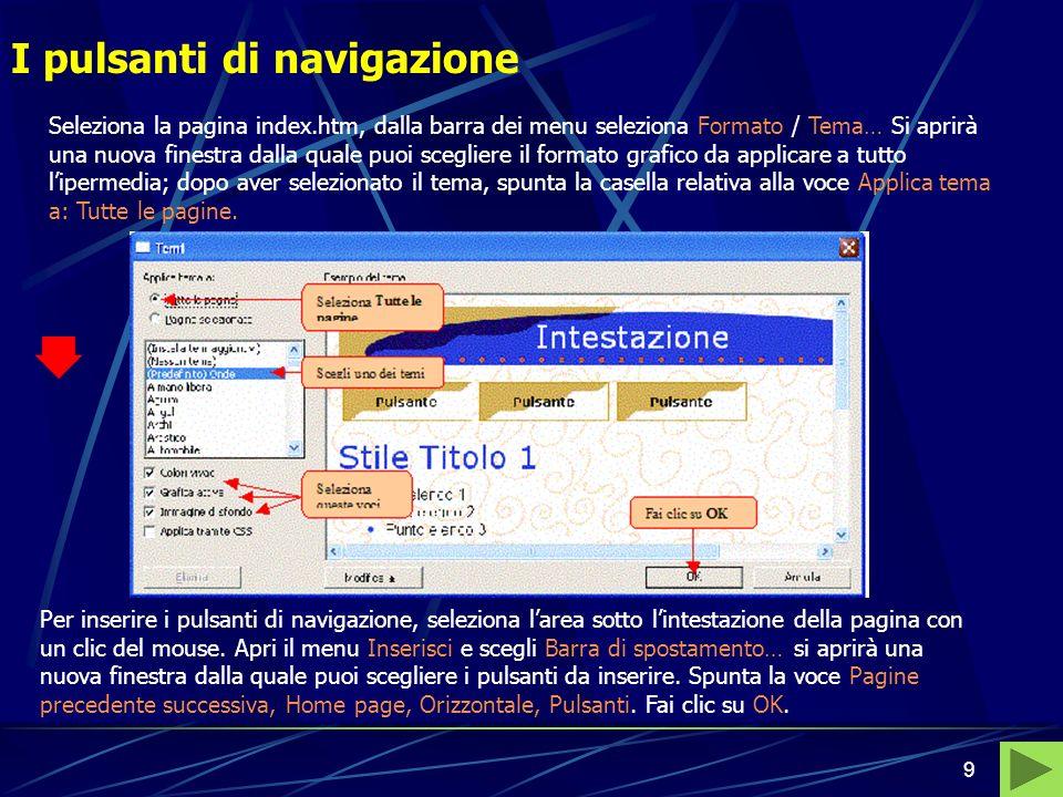 Bernardo - Pedone, Informatica di base8 La struttura Nella barra delle visualizzazioni fai clic sul pulsante Apparirà il simbolo di un foglio con alli