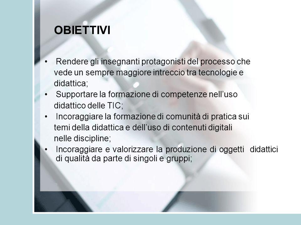 AREA 3: COMUNICARE CON LE TIC 9.La comunicazione e tecnologie per linsegnamento 10.Linnovazione nella scuola attraverso le tecnologie didattiche 11.Processi di apprendimento insegnamento 17.Gestione della scuola e TIC TORNA