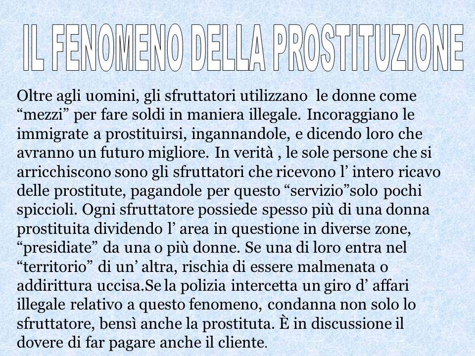 Le bande mafiose, presenti in tutt Italia, sfruttano gli immigrati per compiere azioni illegali per i propri interessi. Le mafie, approfittando dei pr