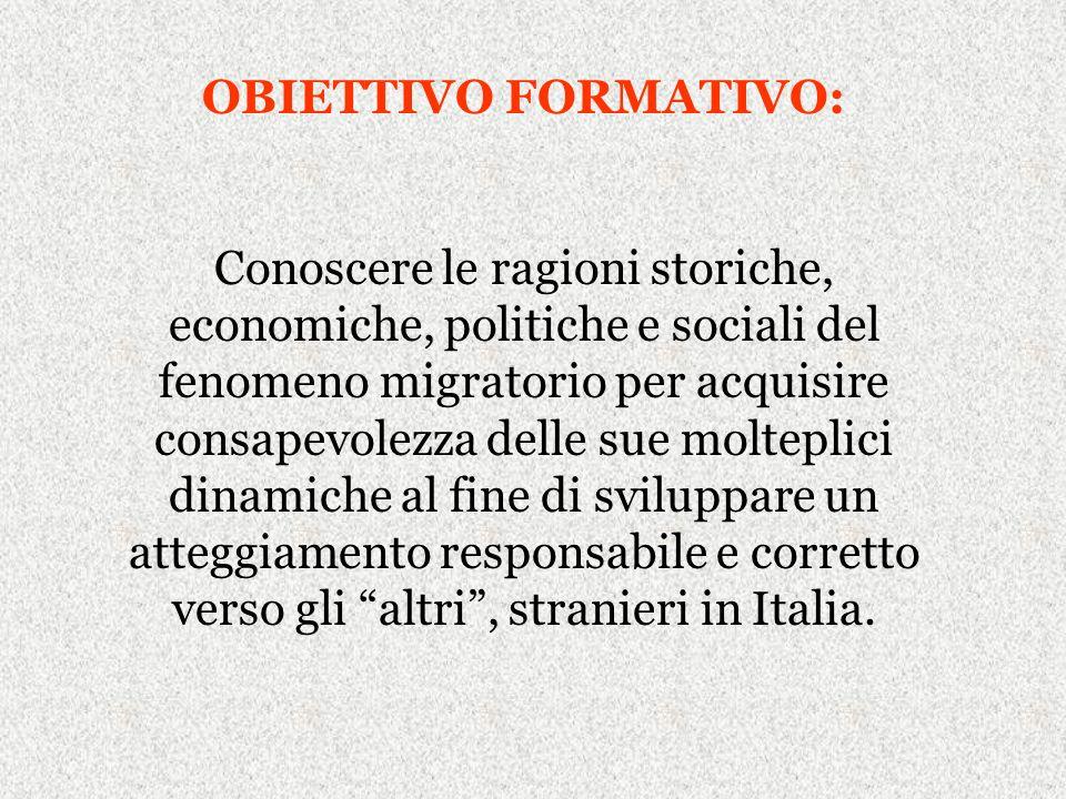 Le nuove norme escludono la possibilità che essi entrino in Italia per cercare unoccupazione, poiché il loro ingresso è subordinato alleffettiva esistenza di una possibilità di lavoro sul territorio italiano.