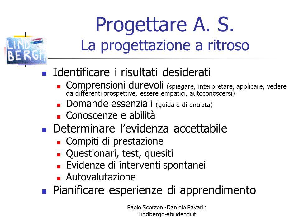 Paolo Scorzoni-Daniele Pavarin Lindbergh-abilidendi.it Progettare A.