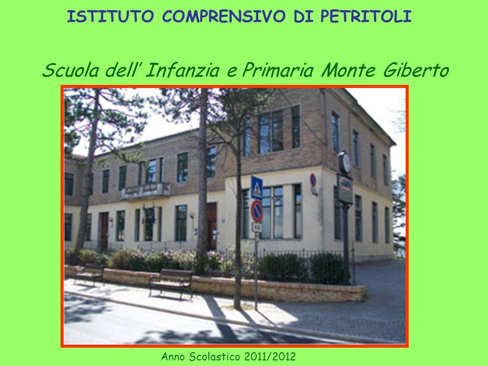 ISTITUTO COMPRENSIVO DI PETRITOLI Scuola dell Infanzia e Primaria Monte Giberto Anno Scolastico 2011/2012