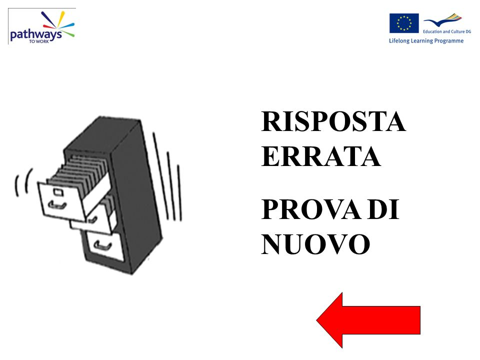 RISPOSTA ERRATA PROVA DI NUOVO Electricity at work can be dangerous Wrong9