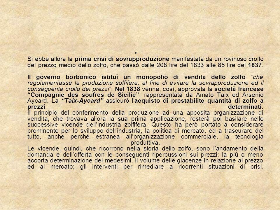 13 - Crisi finale e dismissione del settore solfifero siciliano (1970 - 1989) Con la legge regionale 6 giugno 1975, n.