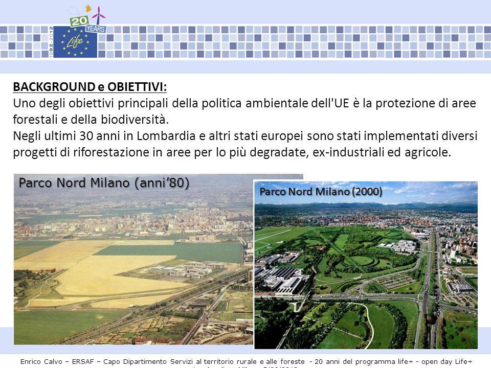 Grazie per lattenzione Enrico Calvo – ERSAF – Capo Dipartimento Servizi al territorio rurale e alle foreste - 20 anni del programma life+ - open day Life+ Lombardia – Milano 5/06/2012