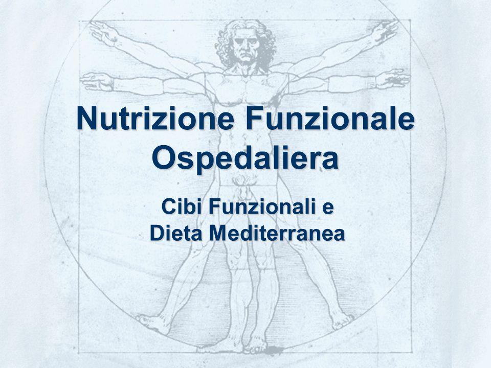 © BIObenessere - marketing tecnologico e scientifico22 Nutrizione Funzionale Ospedaliera Cibi Funzionali e Dieta Mediterranea