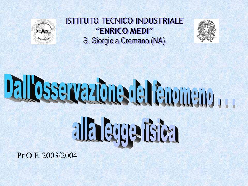 Pr.O.F. 2003/2004 ISTITUTO TECNICO INDUSTRIALE ENRICO MEDI S.