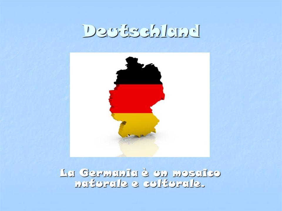 Territorio La Germania è suddivisa in tre grandi zone ed è caratterizzata da un paesaggio molto vario.