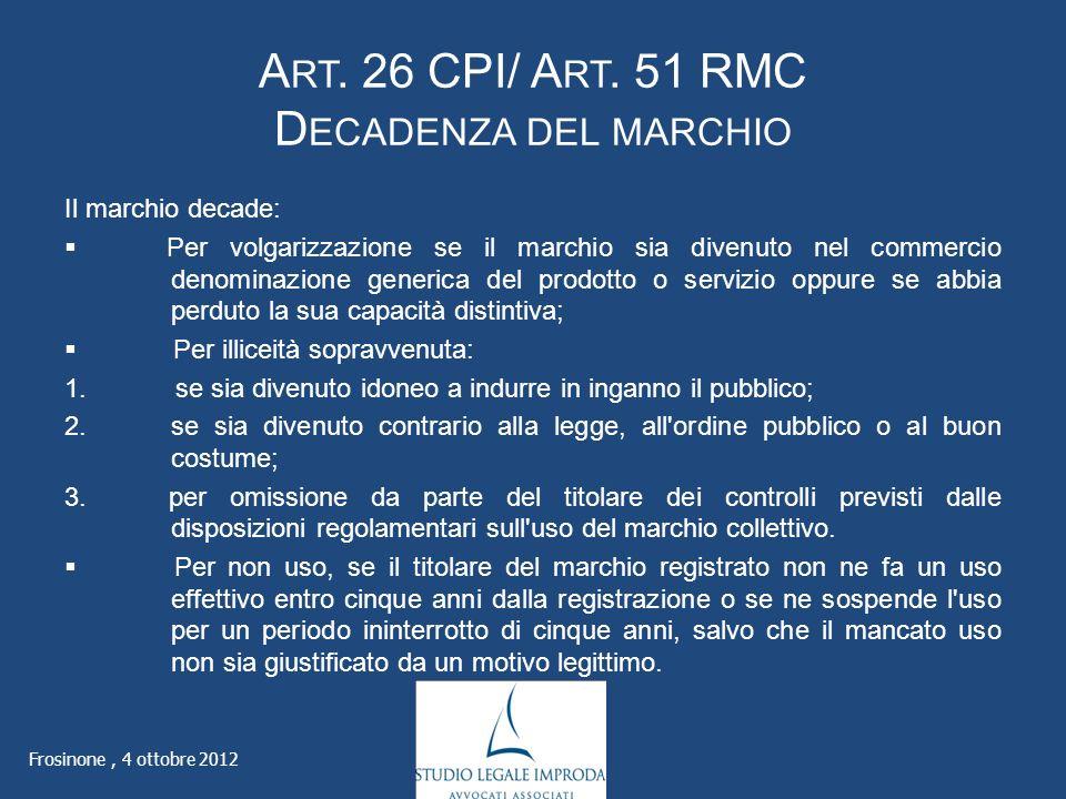 A RT. 26 CPI/ A RT.