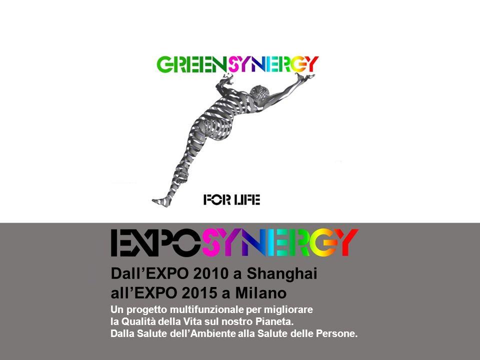 DallEXPO 2010 a Shanghai allEXPO 2015 a Milano Un progetto multifunzionale per migliorare la Qualità della Vita sul nostro Pianeta. Dalla Salute dellA