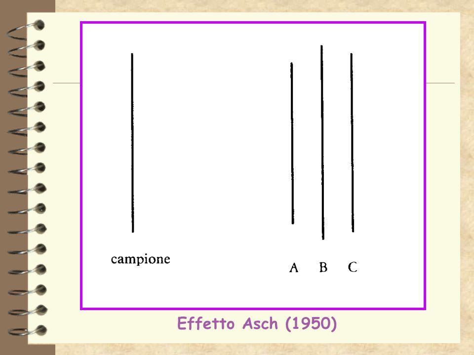 Effetto Asch (1950)