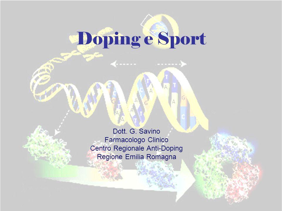 Doping e Sport Dott.G.