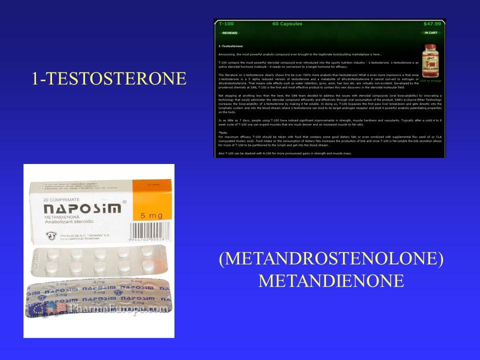 (METANDROSTENOLONE) METANDIENONE 1-TESTOSTERONE