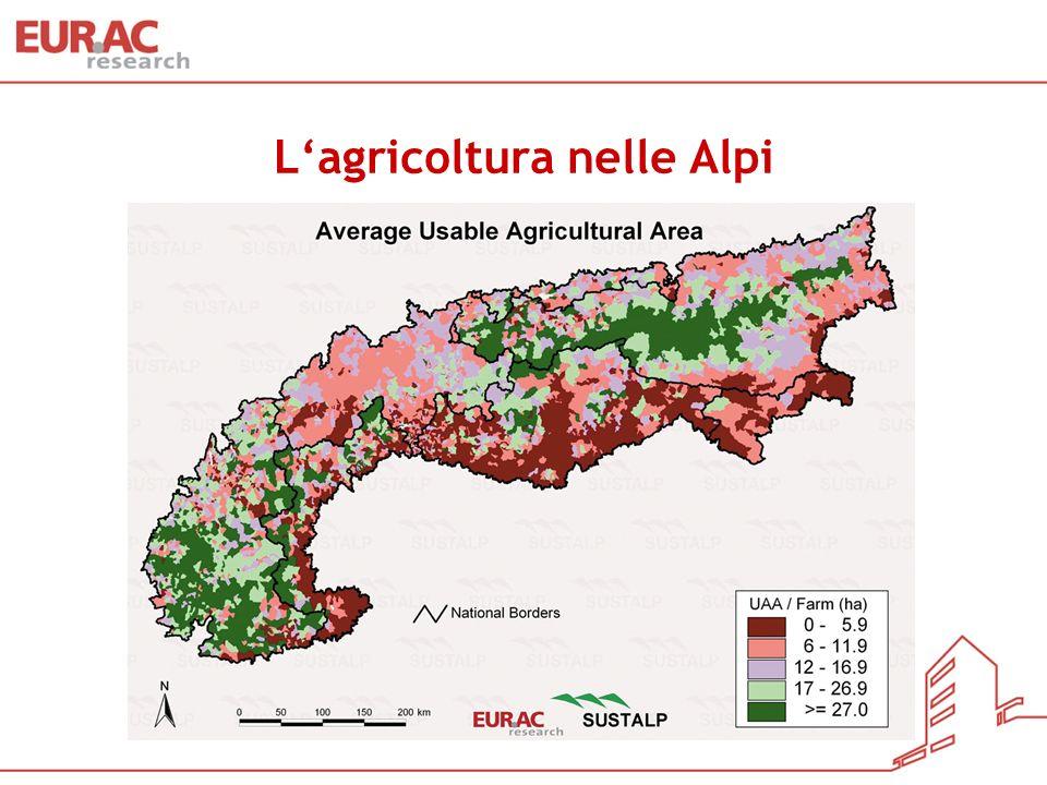 Lagricoltura nelle Alpi