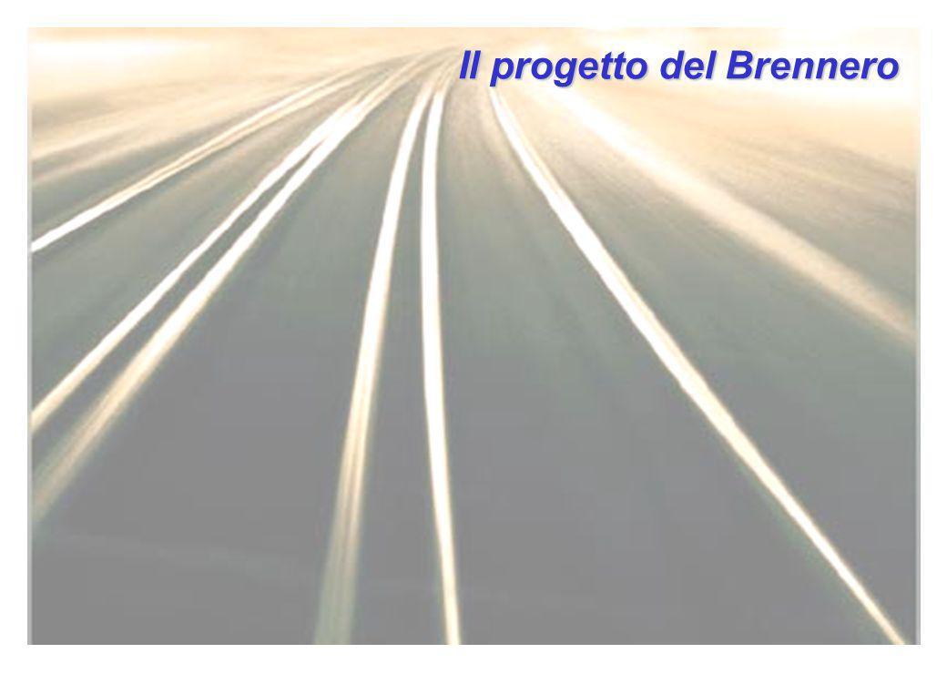 Il progetto del Brennero