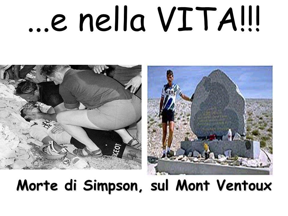 ...e nella VITA!!! Morte di Simpson, sul Mont Ventoux