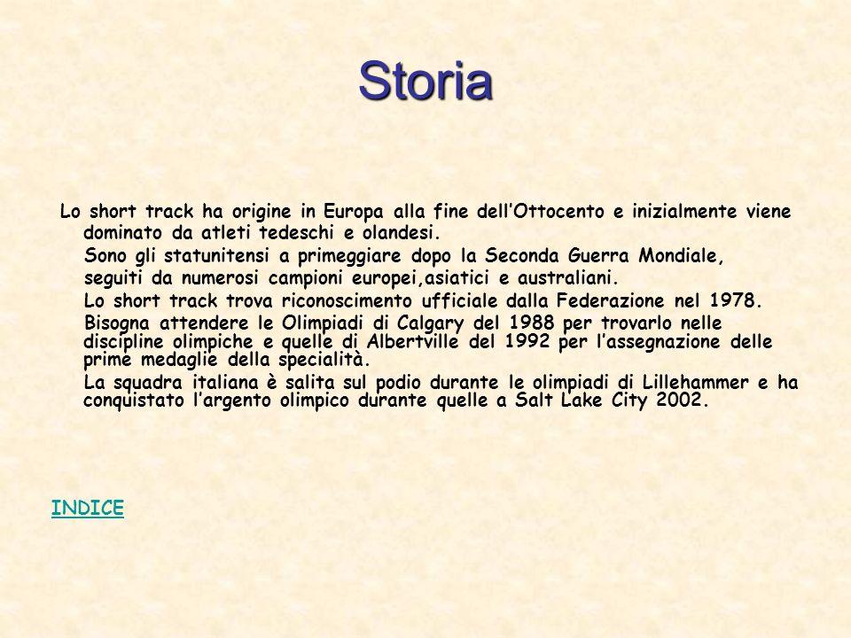 Storia Lo short track ha origine in Europa alla fine dellOttocento e inizialmente viene dominato da atleti tedeschi e olandesi.