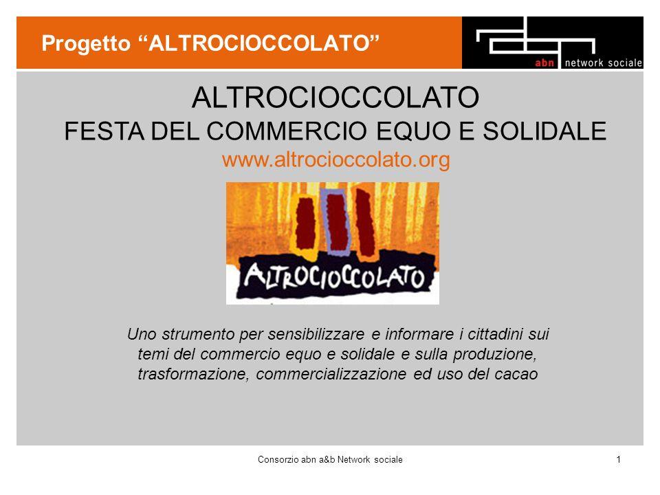 Cosa è COSA È Altrocioccolato è un evento culturale promosso da Umbria Fair Trade.