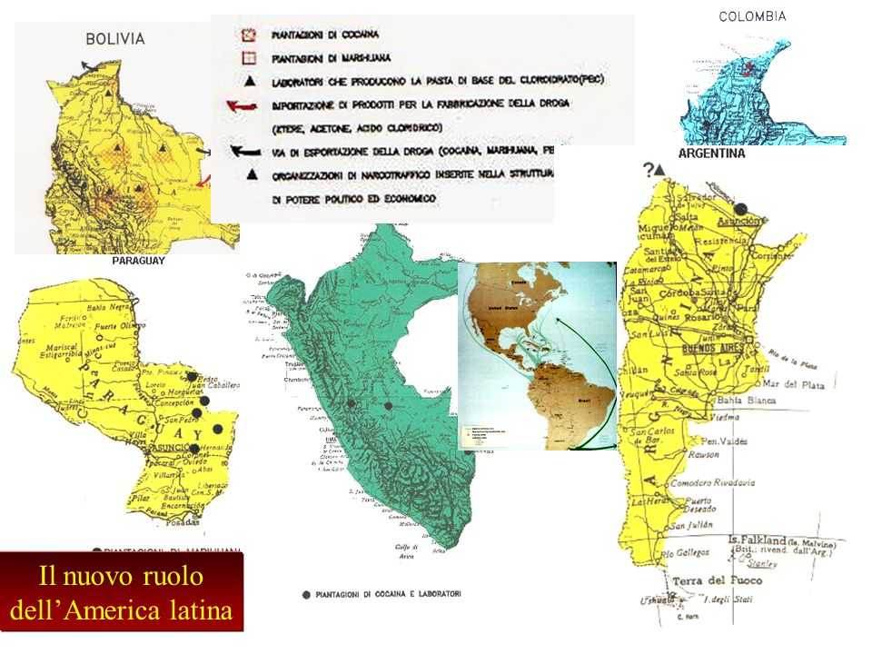 Il nuovo ruolo dellAmerica latina