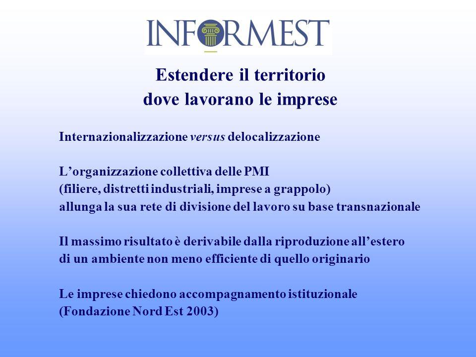 Realizzare un ambiente favorevole alle proprie imprese nella realtà del partner estero 2 Concertare localmente misure di formazione permanente, inclusa la diffusione della lingua italiana.