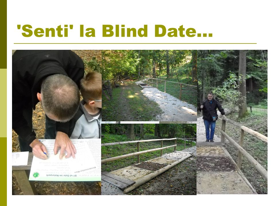 'Senti' la Blind Date…