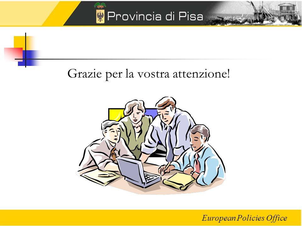 European Policies Office Grazie per la vostra attenzione!