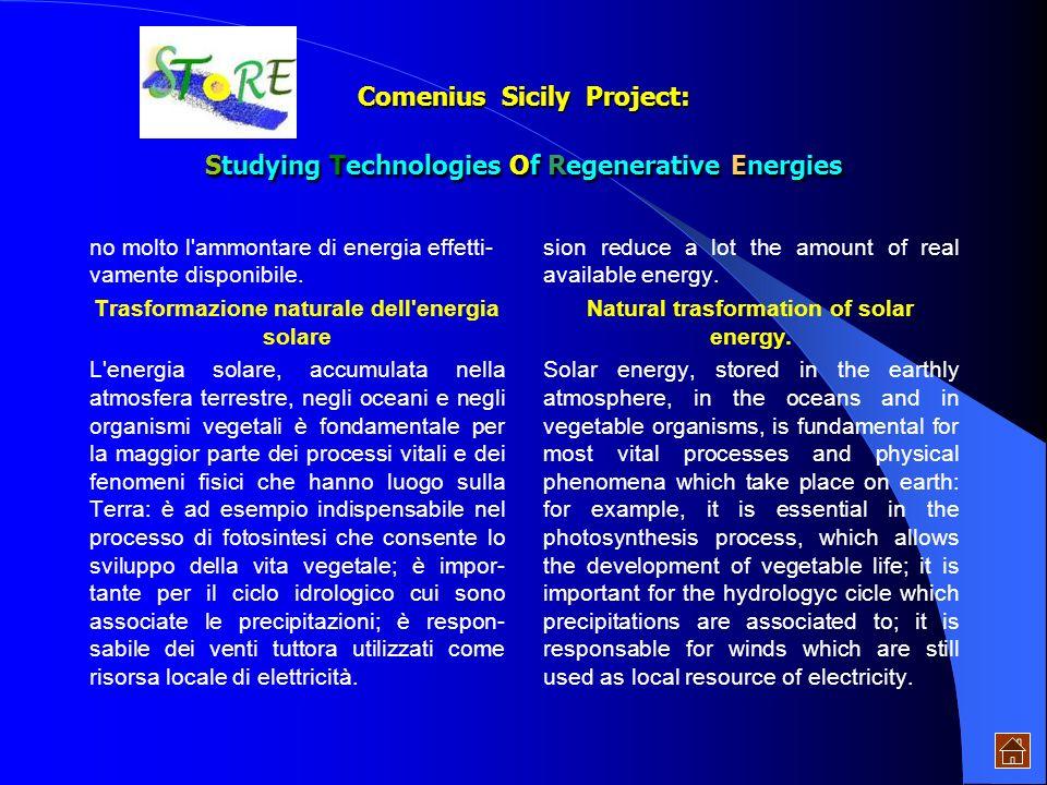 USI DELLENERGIA SOLARE Lenergia solare è lenergia raggiante prodotta nel Sole per effetto di reazioni nucleari e trasmessa alla Terra sotto forma di r