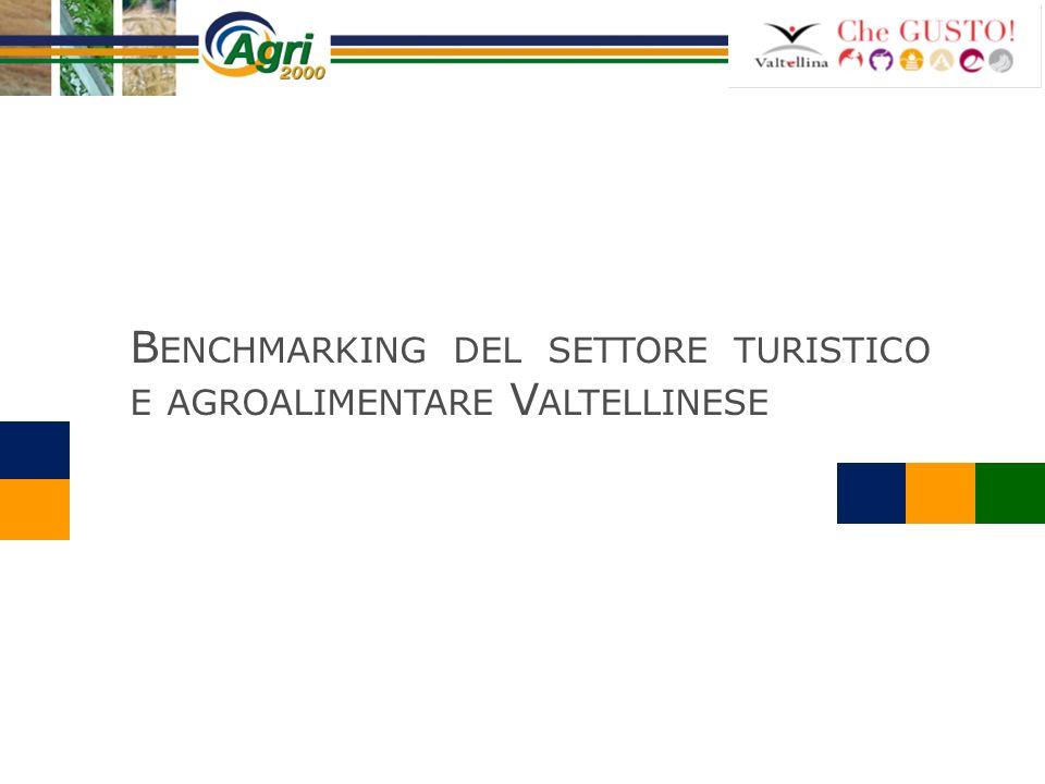 B ENCHMARKING DEL SETTORE TURISTICO E AGROALIMENTARE V ALTELLINESE