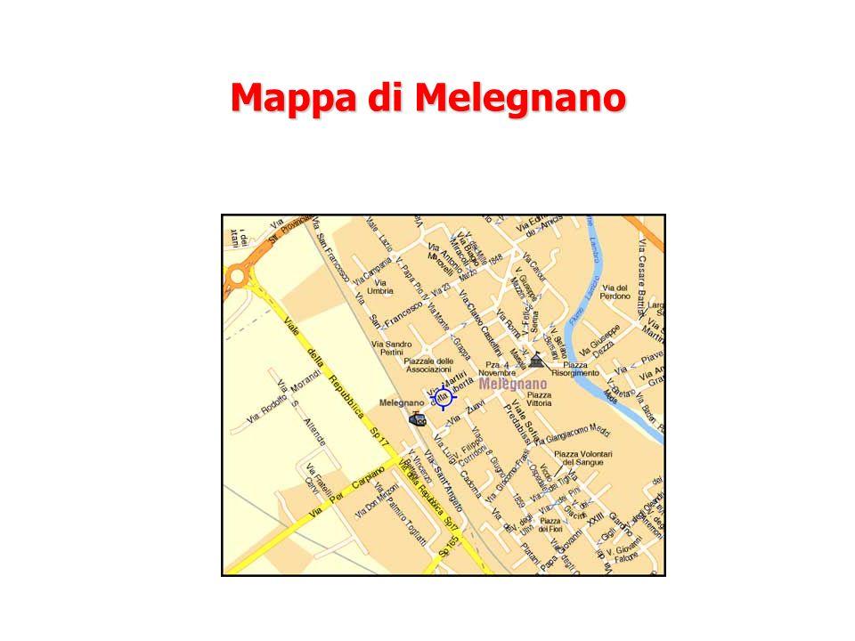 Mappa di Melegnano