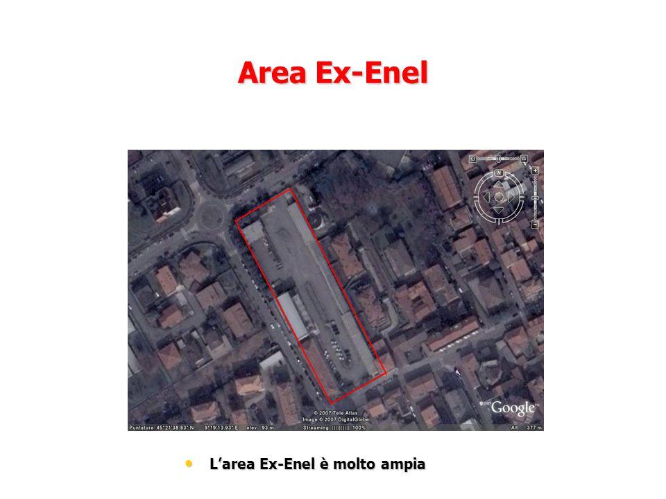 Area Ex-Enel Larea Ex-Enel è molto ampia Larea Ex-Enel è molto ampia