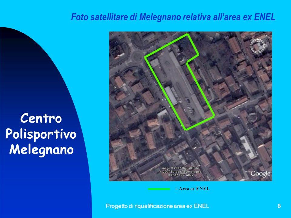 Progetto di riqualificazione area ex ENEL9 F I N E Centro Polisportivo Melegnano Daniela Secondi 1^C