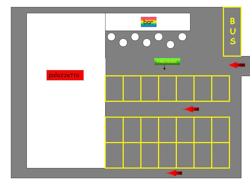 Tribuna1 Tribuna 2 Campo da pallavolo, calcetto, basket Spogliatoio 1Spogliatoio 2 Spogliatoio 3 Magazzino Servizi