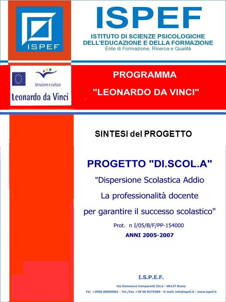 12 LE FASI DI DI.SCOL.A PROGRAMMA LEONARDO DA VINCI PROGETTO DI.SCOL.A Prog.