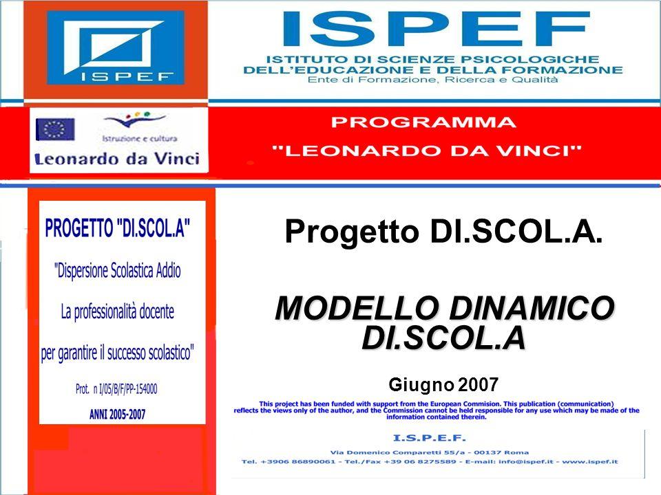 1 Progetto DI.SCOL.A. MODELLO DINAMICO DI.SCOL.A Giugno 2007