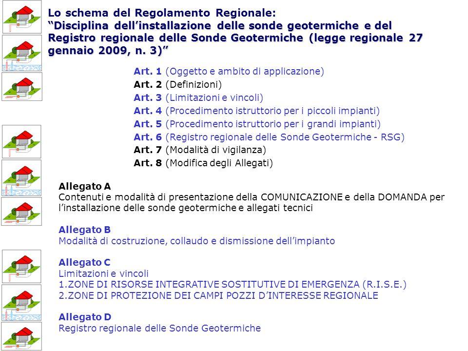 Disciplina dellinstallazione delle sonde geotermiche e del Registro regionale delle Sonde Geotermiche (legge regionale 27 gennaio 2009, n.