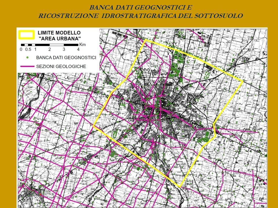 BANCA DATI GEOGNOSTICI E RICOSTRUZIONE IDROSTRATIGRAFICA DEL SOTTOSUOLO