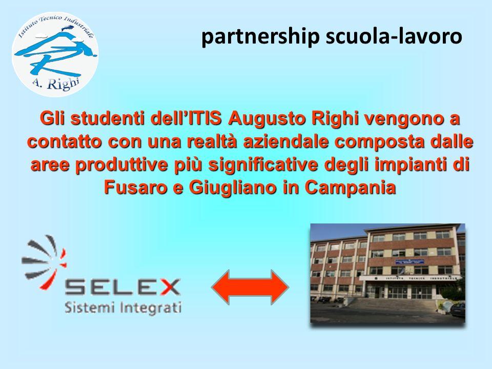 Gli studenti dellITIS Augusto Righi vengono a contatto con una realtà aziendale composta dalle aree produttive più significative degli impianti di Fus